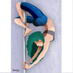 Flecss - Pole Dance illustrations - Andrea FranZosi franZroom.net