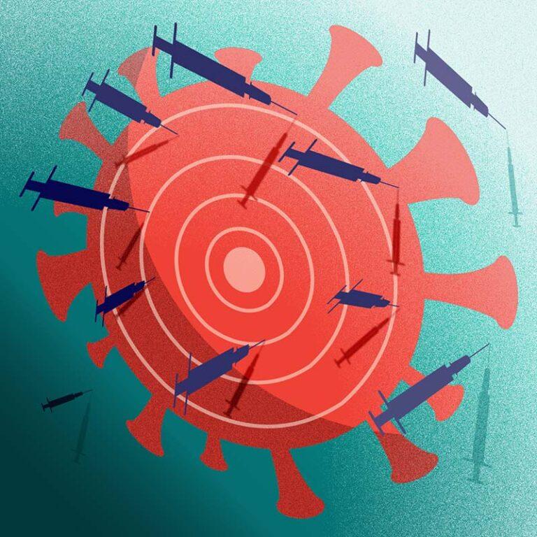 Vaccines efficacy - illustration, Andrea FranZosi franZroom.net