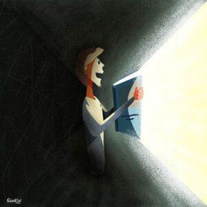 World Book Day illustration, Andrea FranZosi franZroom.net