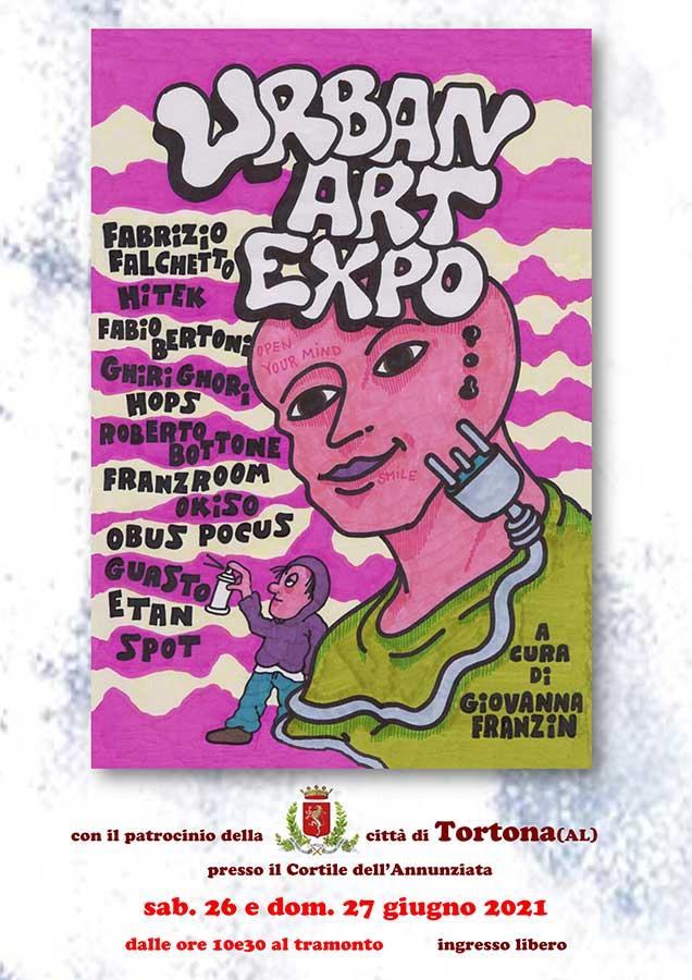 Urban Art Expo - locandina