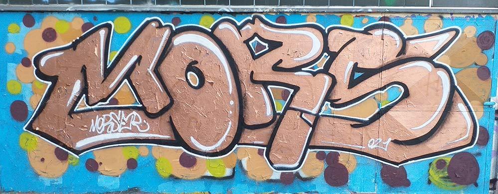 Mors by Morser - FranZroom graffiti