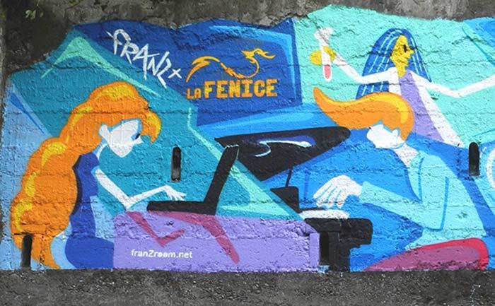 Murale Gamify - Andrea FranZosi, franZroom.net