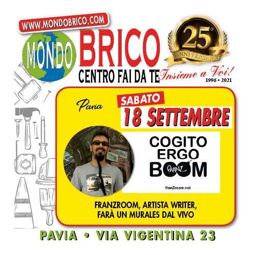 Evento FranZroom MondoBrico Pavia - 18 Settembre 2021