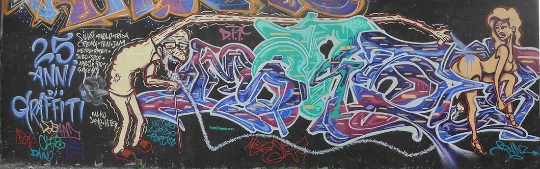 Morser - 25 anni di graffiti - franZroom.net