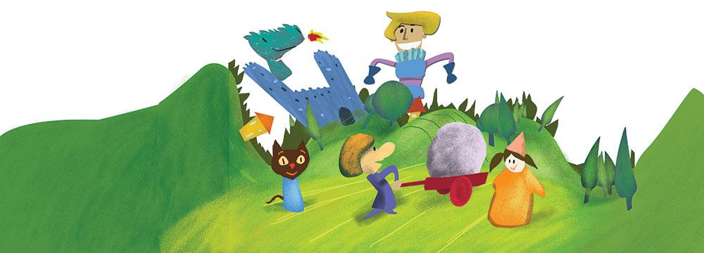 Illustrazione digitale per Associazione Peppino Sarina - Andrea Franzosi, franZroom.net